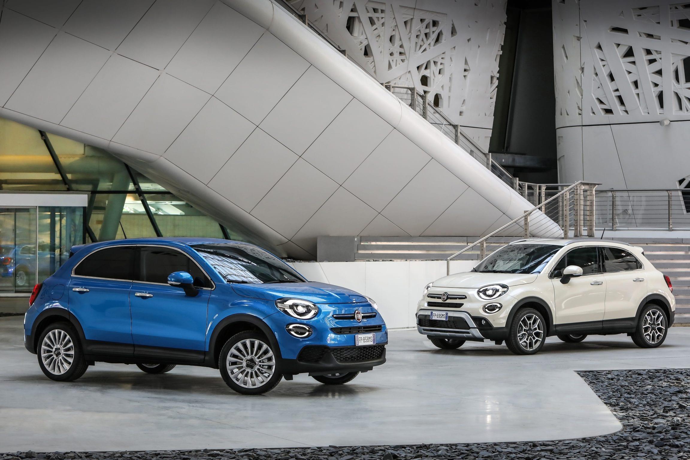 De mid-life update van de Fiat 500X