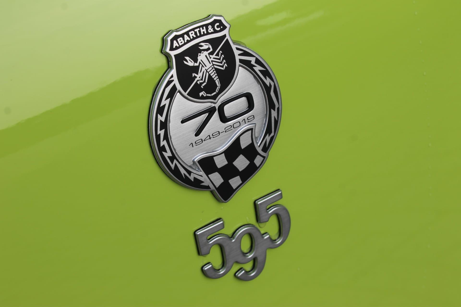 Abarth 595 Competizione 1.4 T-Jet 180 PK Aut. Navi Xenon Sabelt Monza
