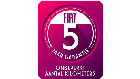 Afbeelding voor Fiat 5 jaar garantie