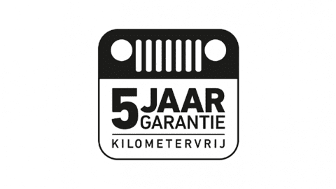 Afbeelding voor Jeep 5 jaar garantie