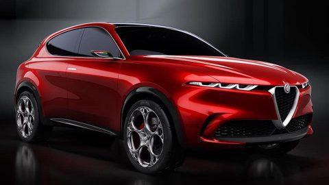 Afbeelding voor Alfa Romeo Tonale conceptcar