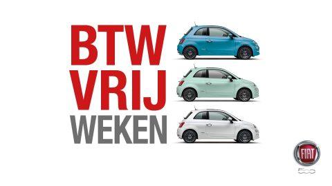 Afbeelding voor Fiat BTW vrij weken