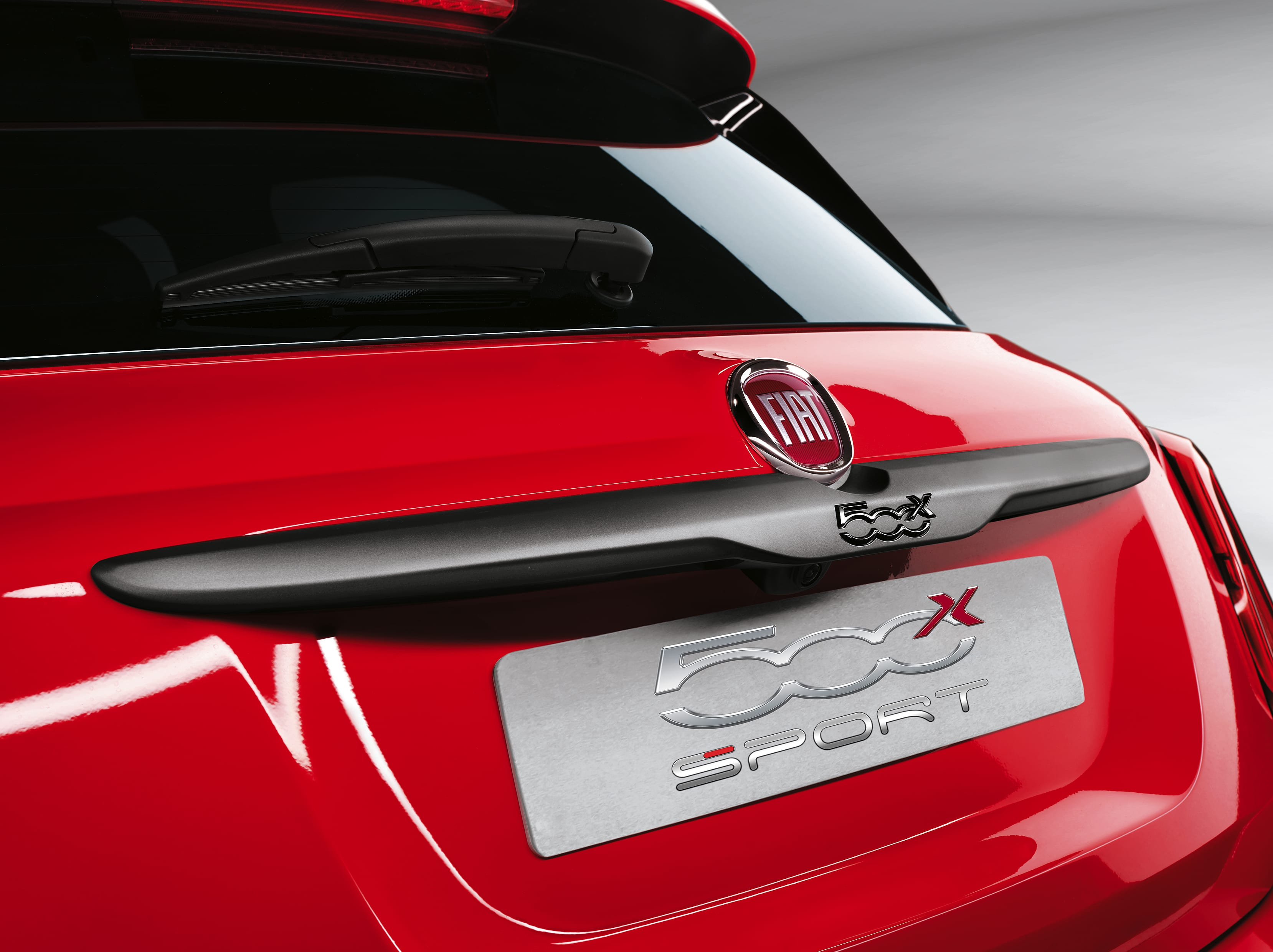 Fiat 500X Sport close-up achterkant