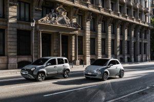 Fiat 500 en Panda Hybrid