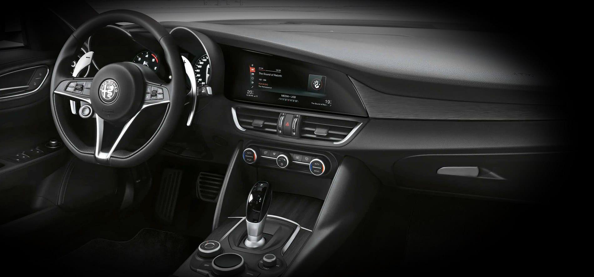 Alfa Romeo Giulia B-tech update