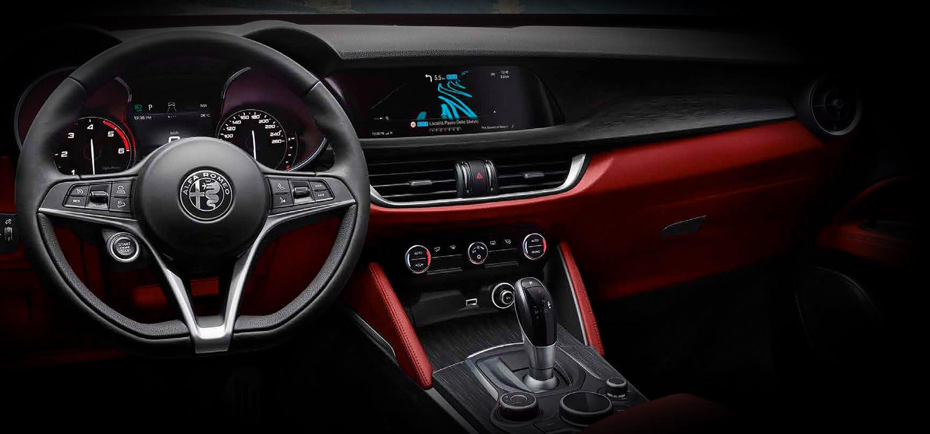 Alfa Romeo Stelvio B-tech update