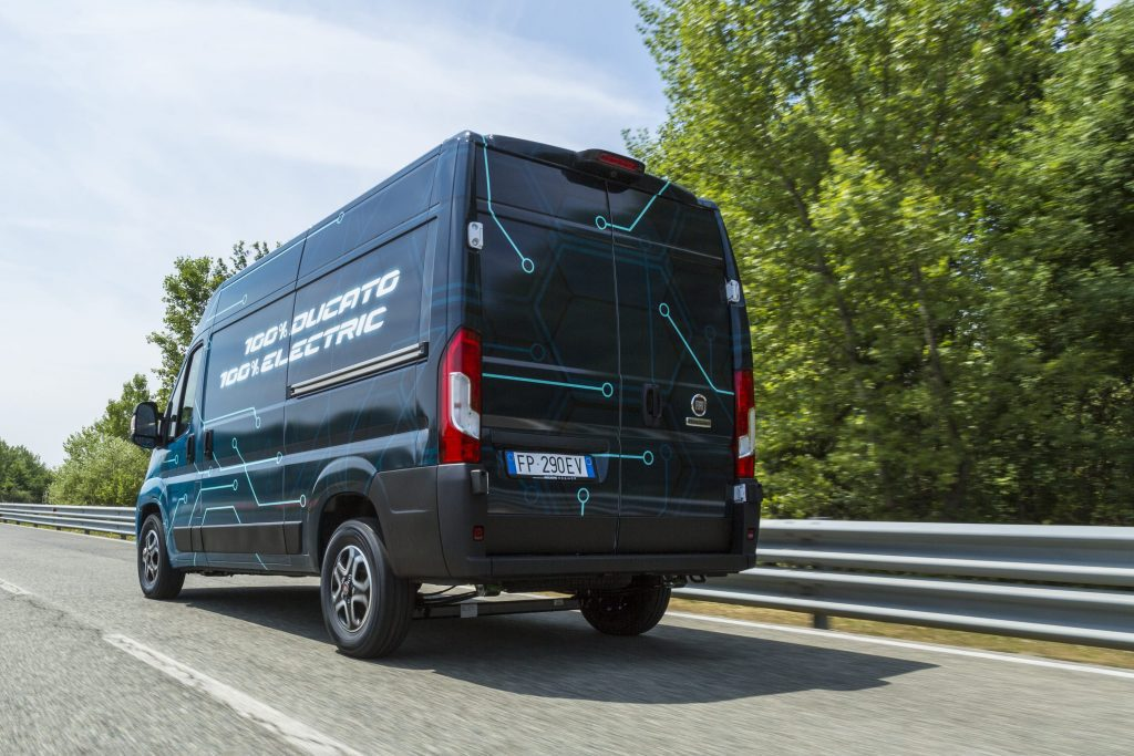 Fiat Professional Ducato Electric