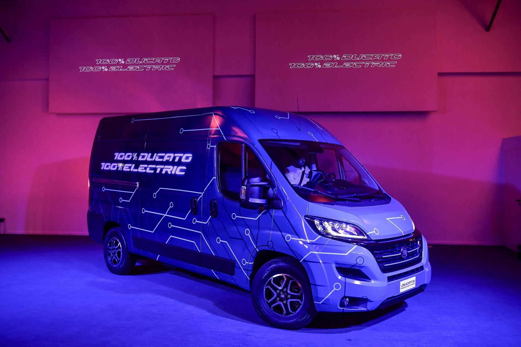 De nieuwe Ducato Electric