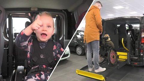 Afbeelding voor De rolstoelbus van Linde