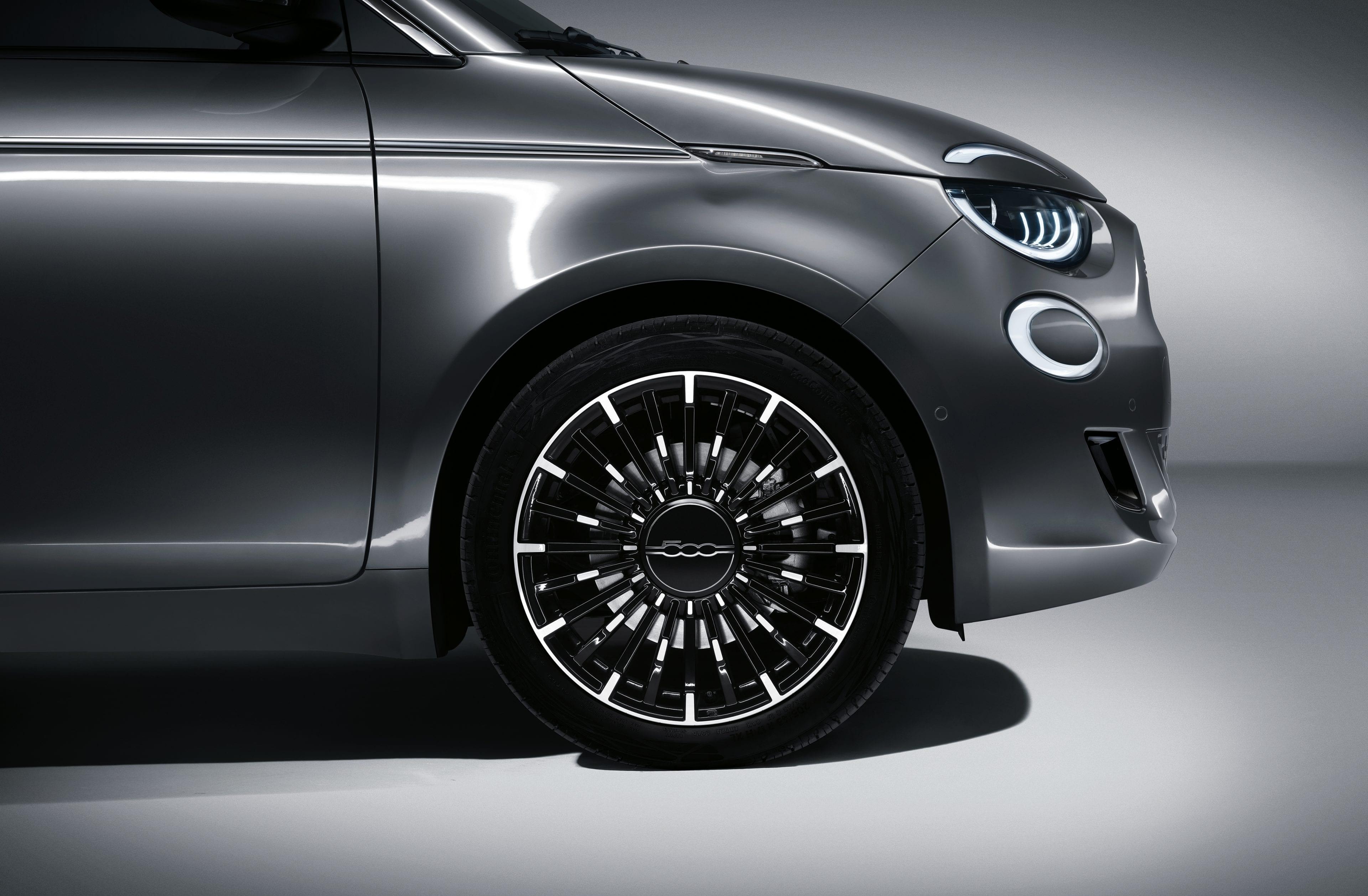 New Fiat 500e - velgen