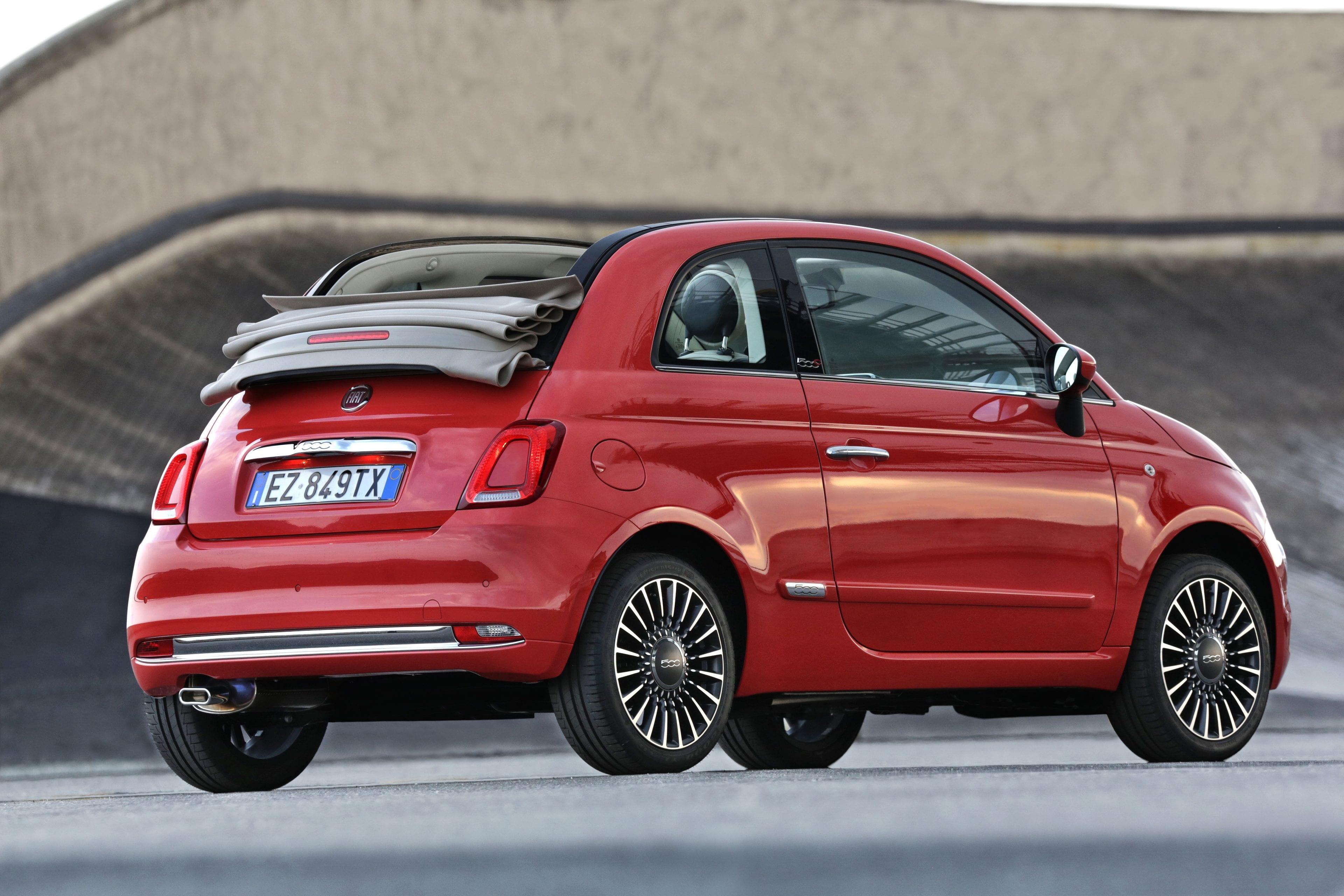 Fiat 500C achterzijde