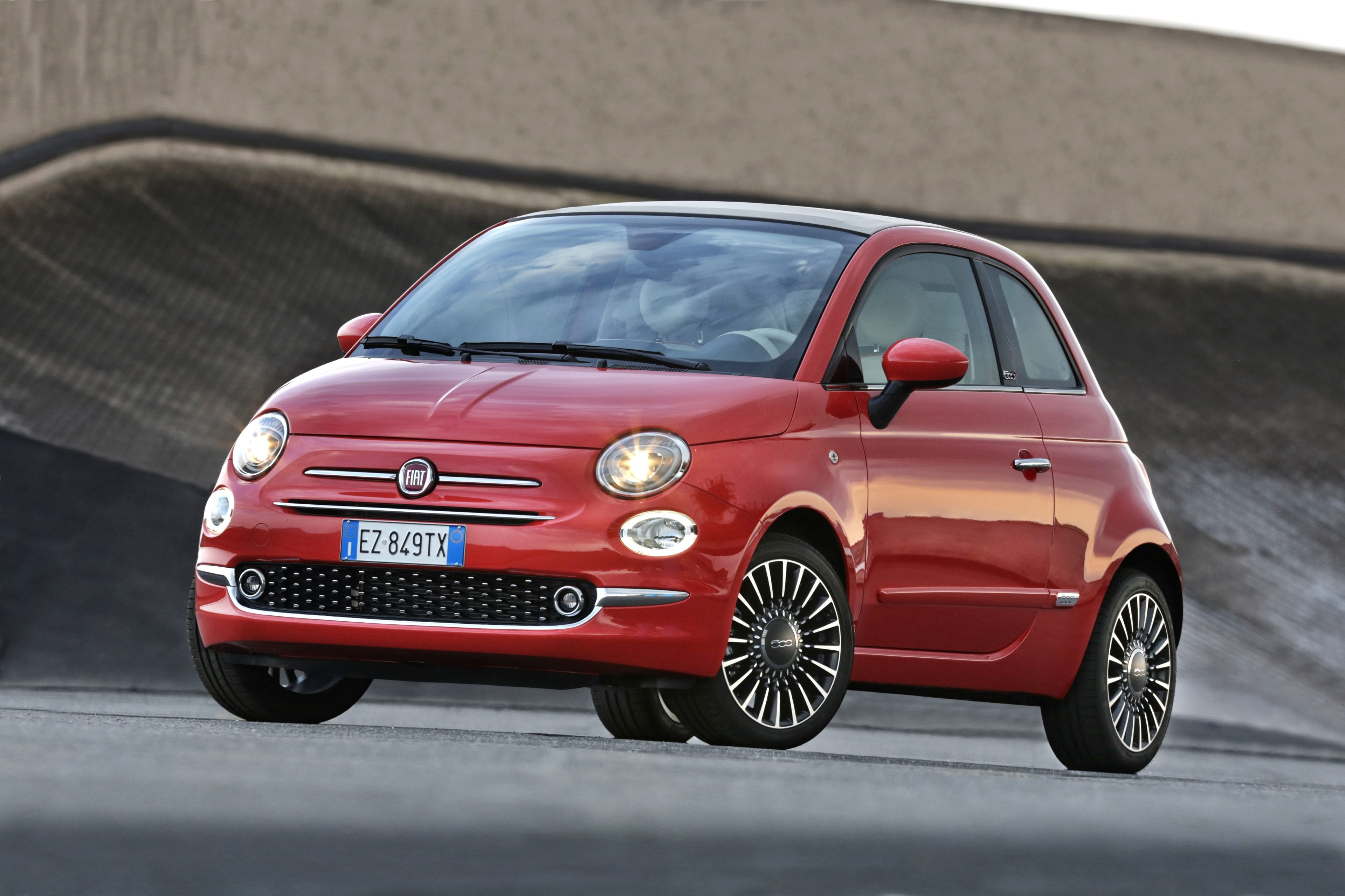 Fiat 500C voorkant