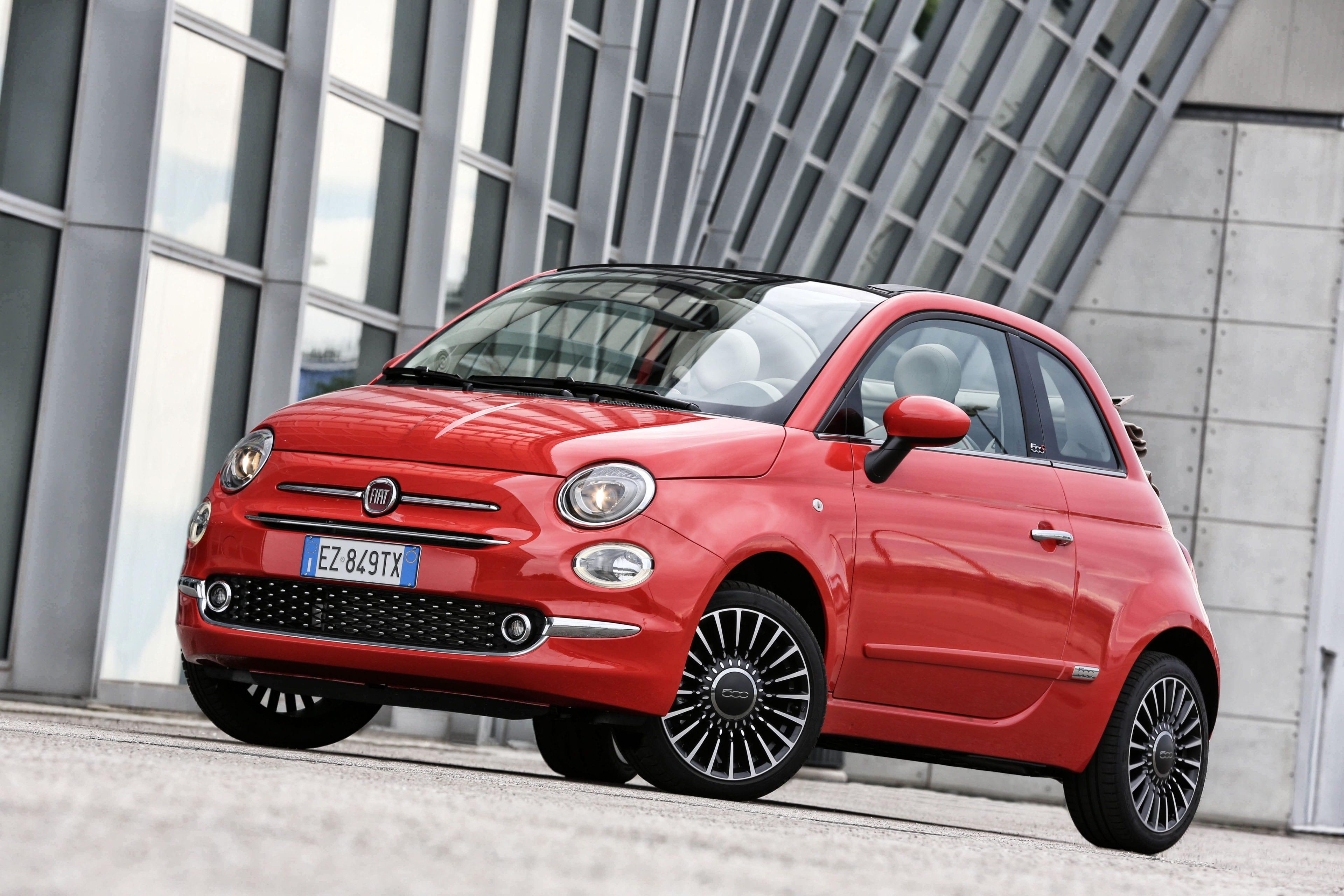 Fiat 500C voorzijde