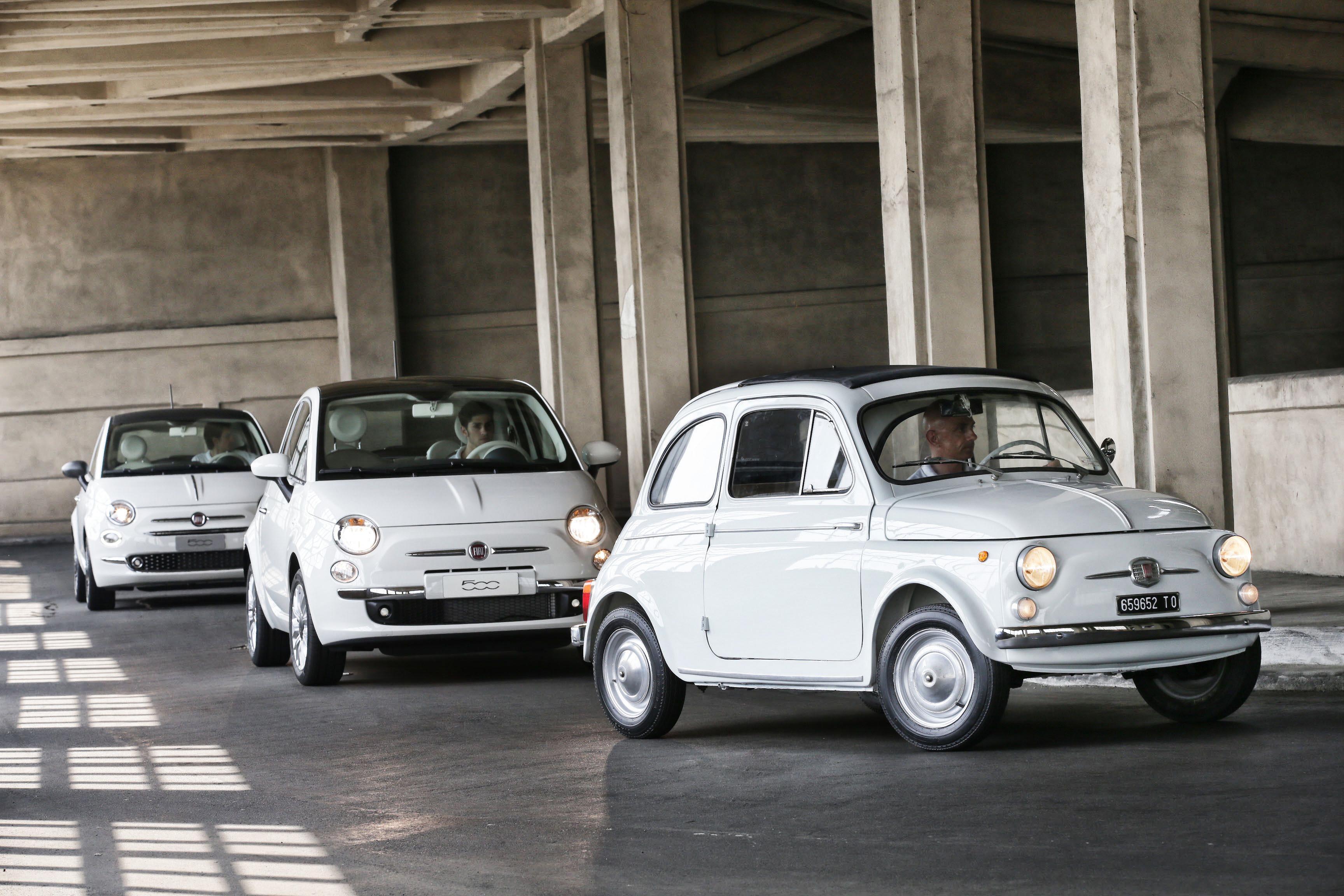 Fiat 500 generaties