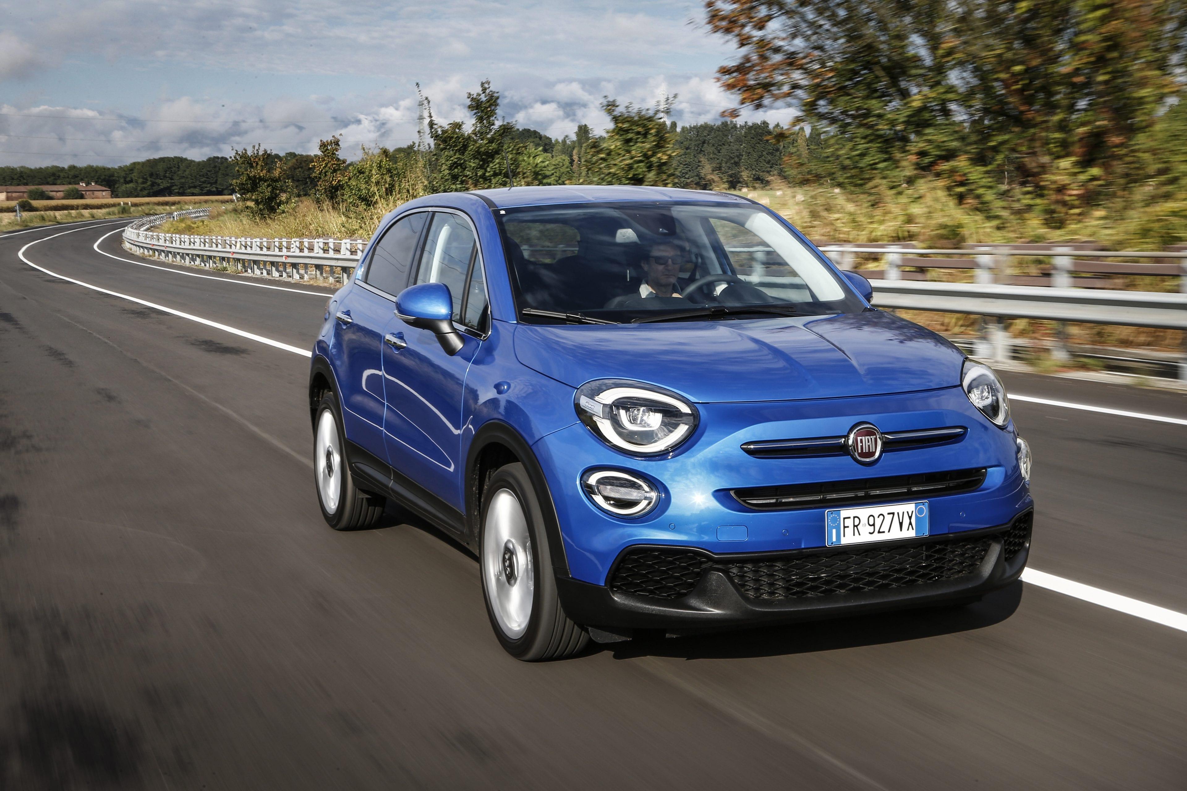 Fiat New 500X blauw