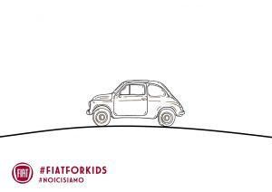 Fiat 500 vintage - zonder achtergrond