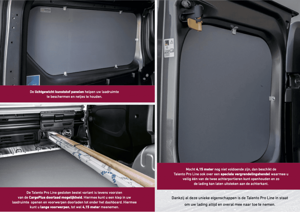 Fiat Professional - Talento Pro Line efficiente alleskunner 2