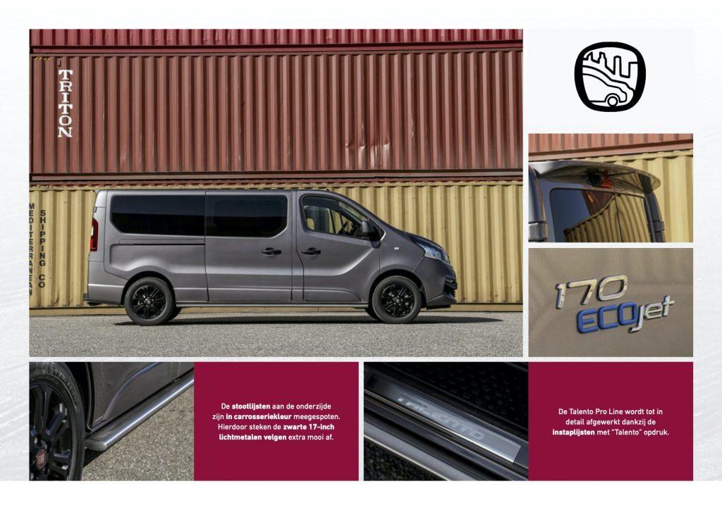 Fiat Professional - Talento Pro Line extrieur