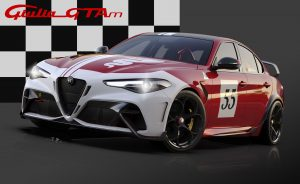 Alfa Romeo Giulia GTA dedicated Livery 55
