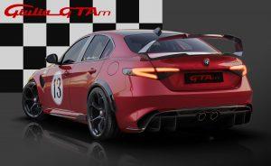 Alfa Romeo Giulia GTA dedicated Livery 13 achterkant
