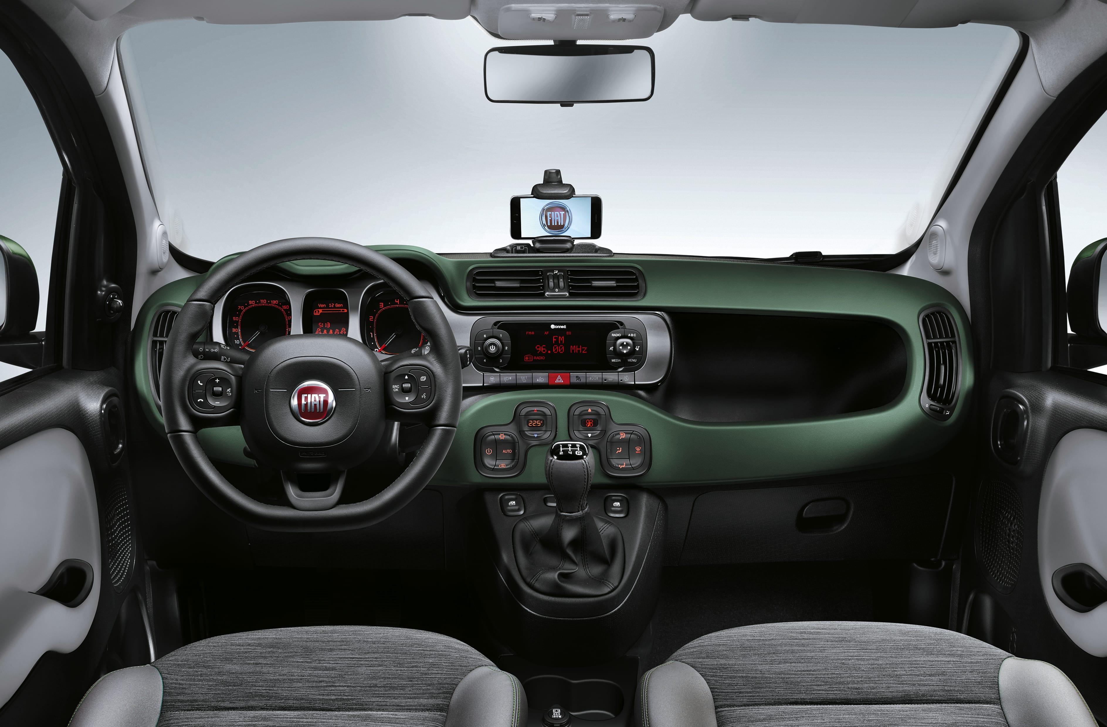 Fiat_Panda 4x4 dashboard