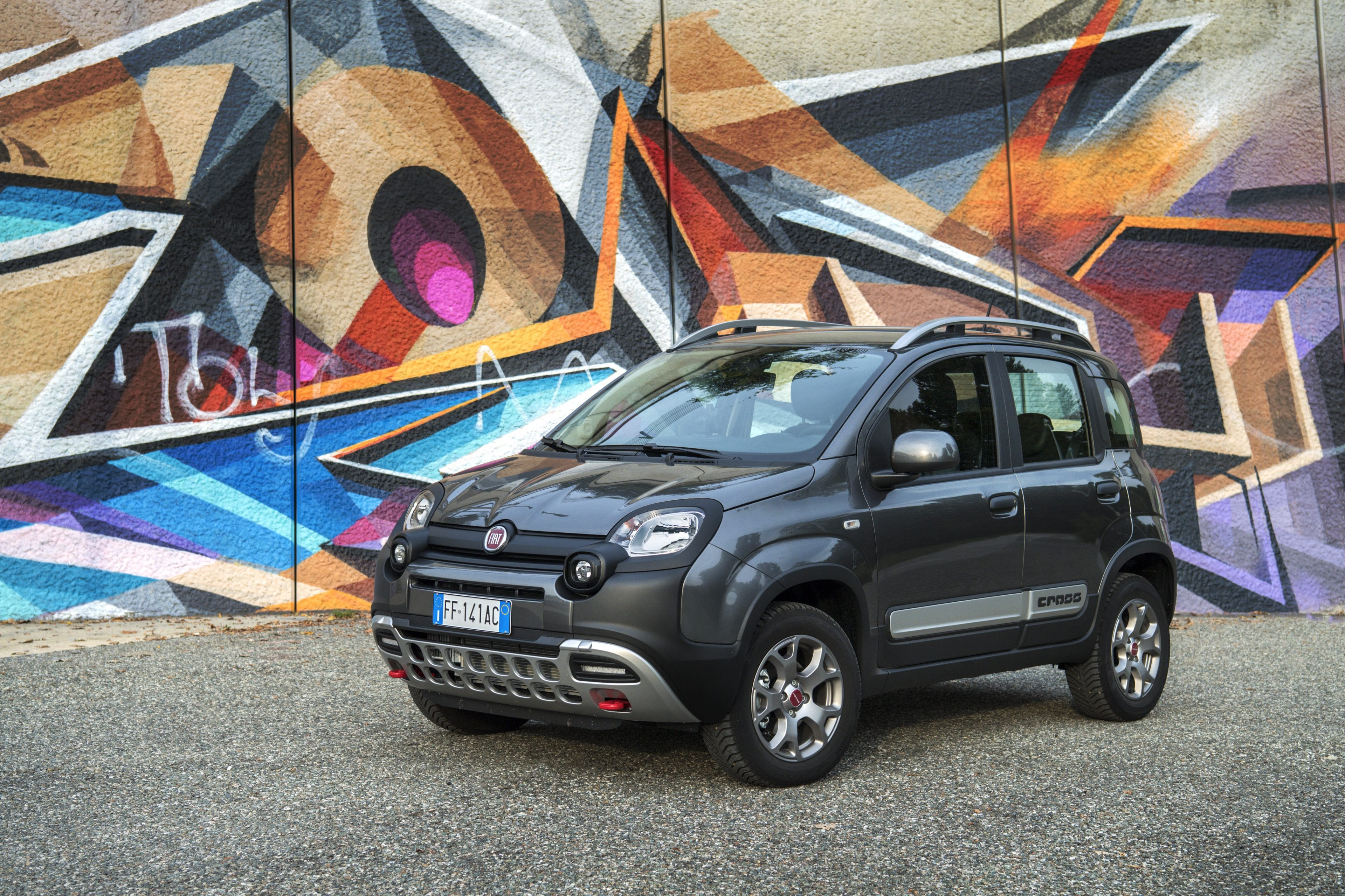 Fiat Panda 4x4 grafiti