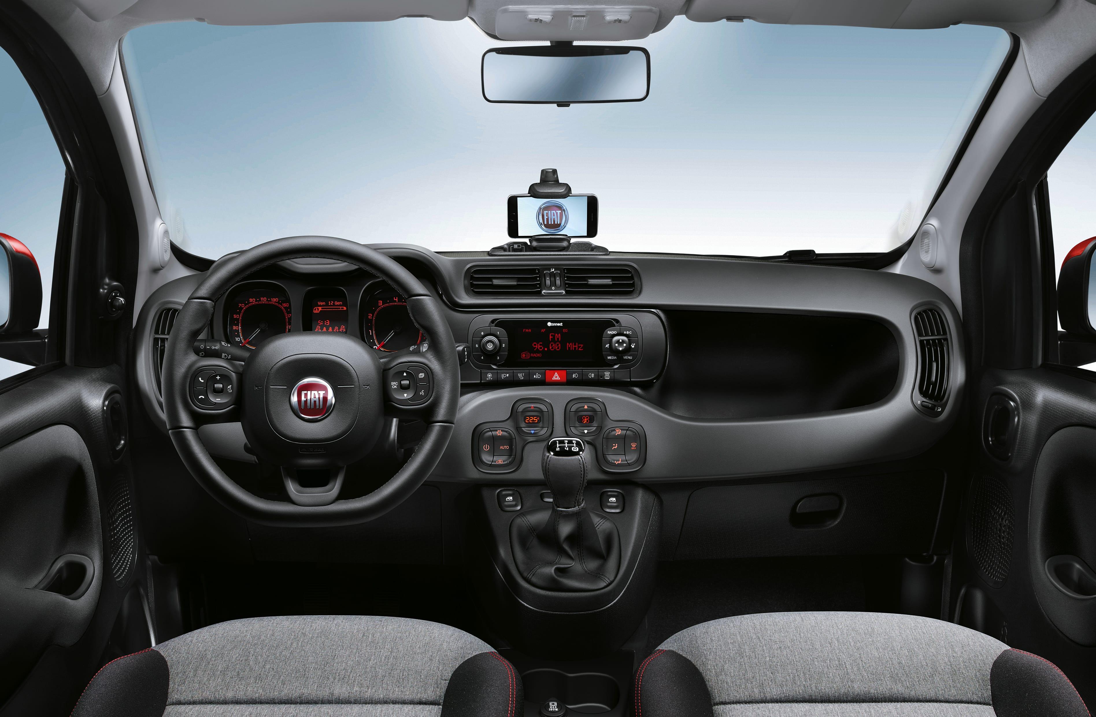 Fiat_Panda dashboard