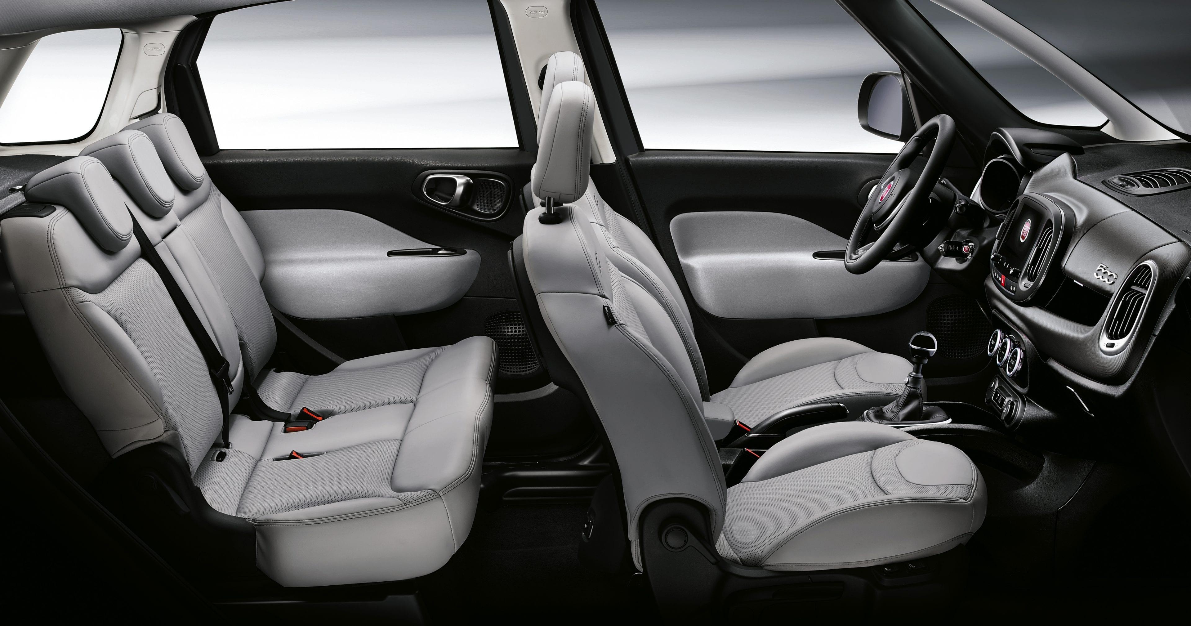 Fiat 500L interieur licht