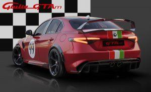 Alfa Romeo Giulia GTA dedicated Livery 99 achterkant