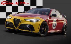 Alfa Romeo Giulia GTA dedicated Livery 13