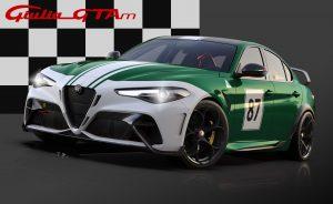 Alfa Romeo Giulia GTA dedicated Livery 87