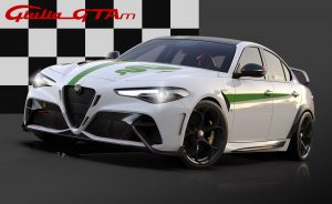 Alfa Romeo Giulia GTA dedicated Livery