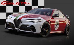 Alfa Romeo Giulia GTA dedicated Livery 99