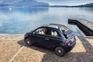 Fiat 500 riva meer