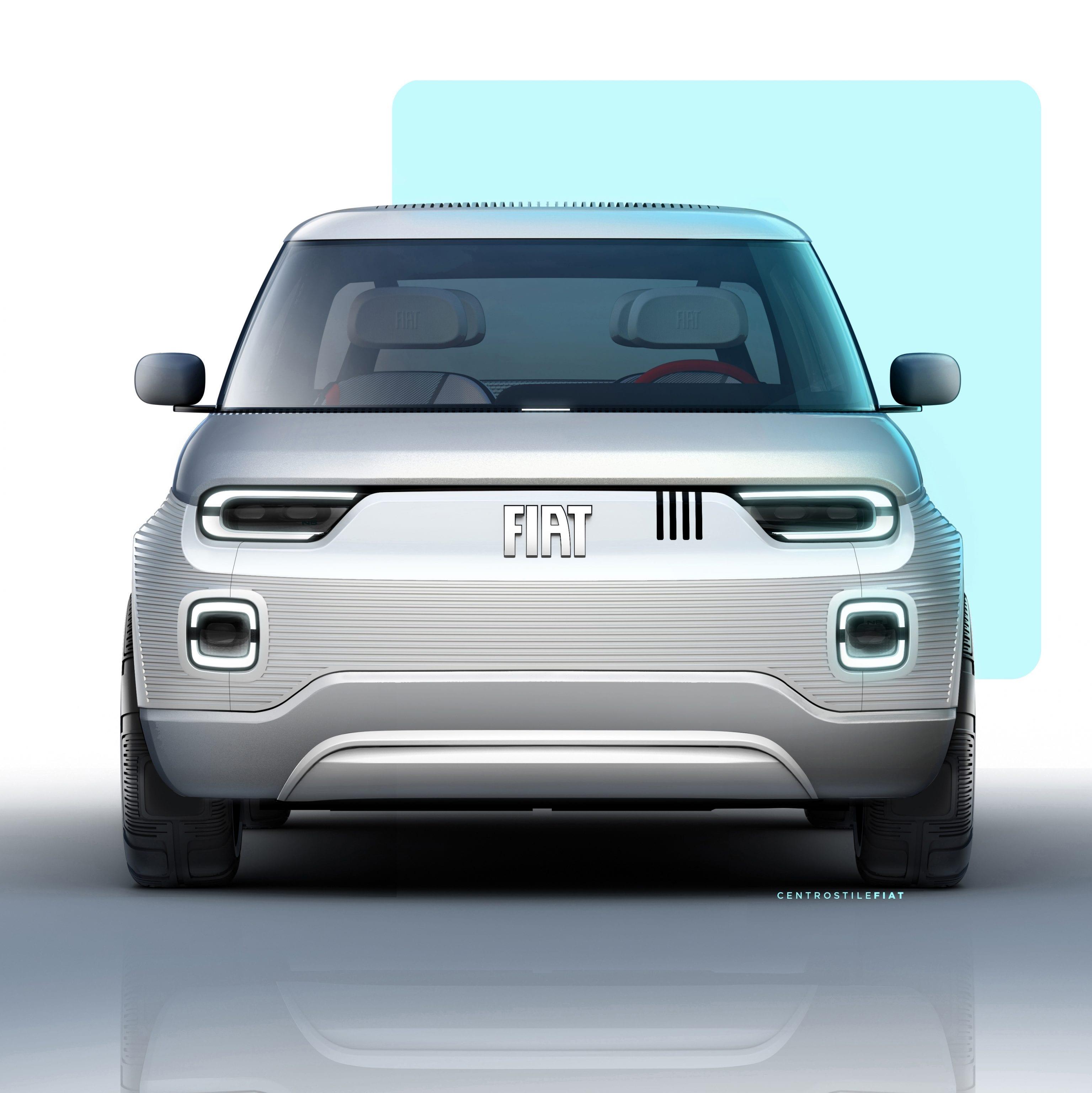 Fiat Concept Centoventi - voorkant