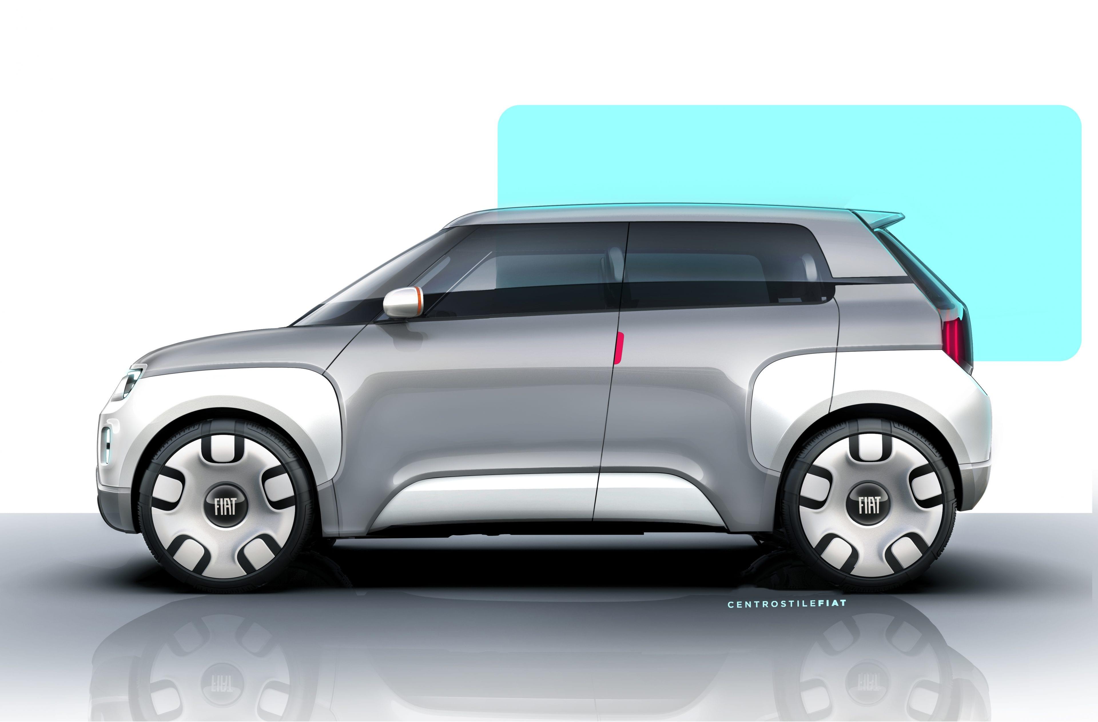Fiat Concept Centoventi - zijkant