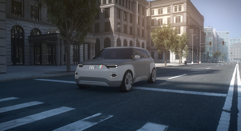 Fiat Concept Centoventi - rijdend