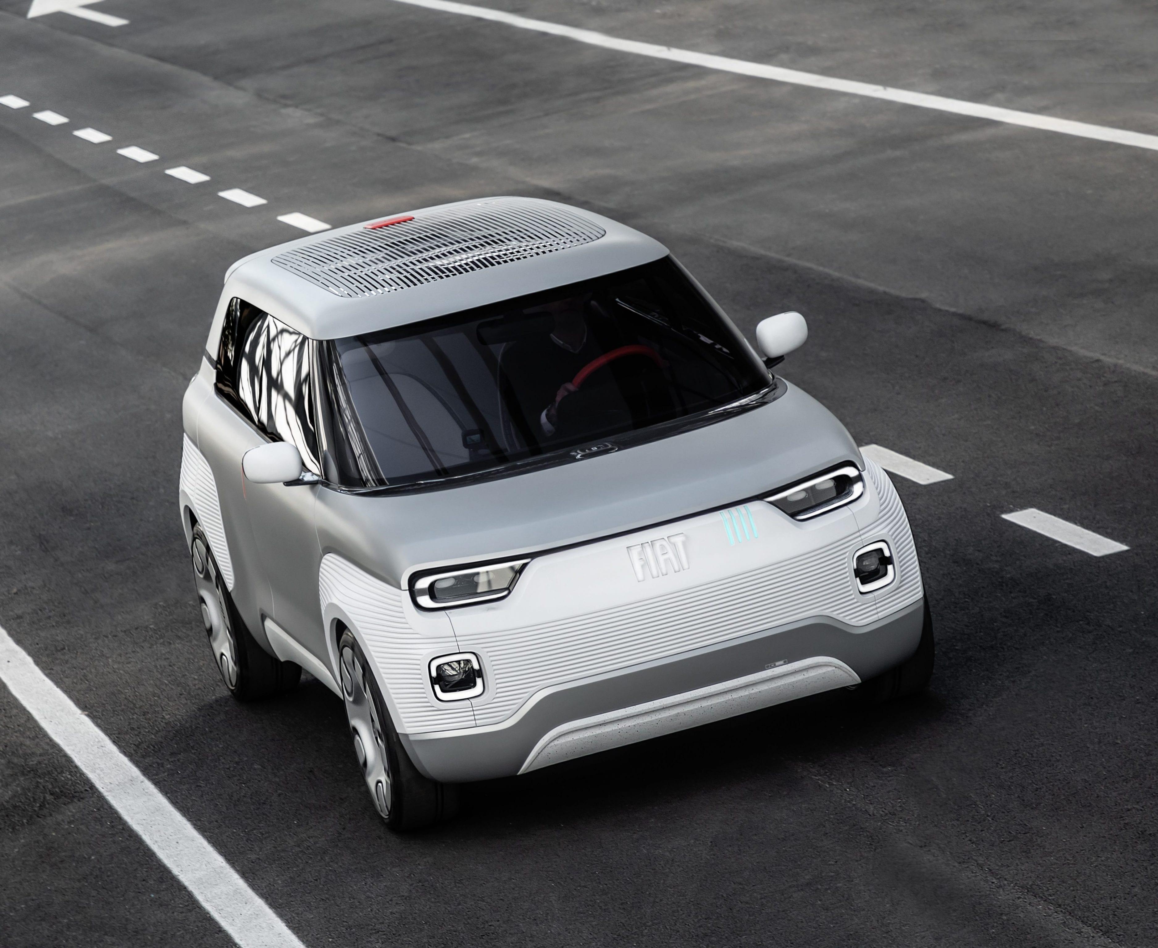Fiat Concept Centoventi - snelweg