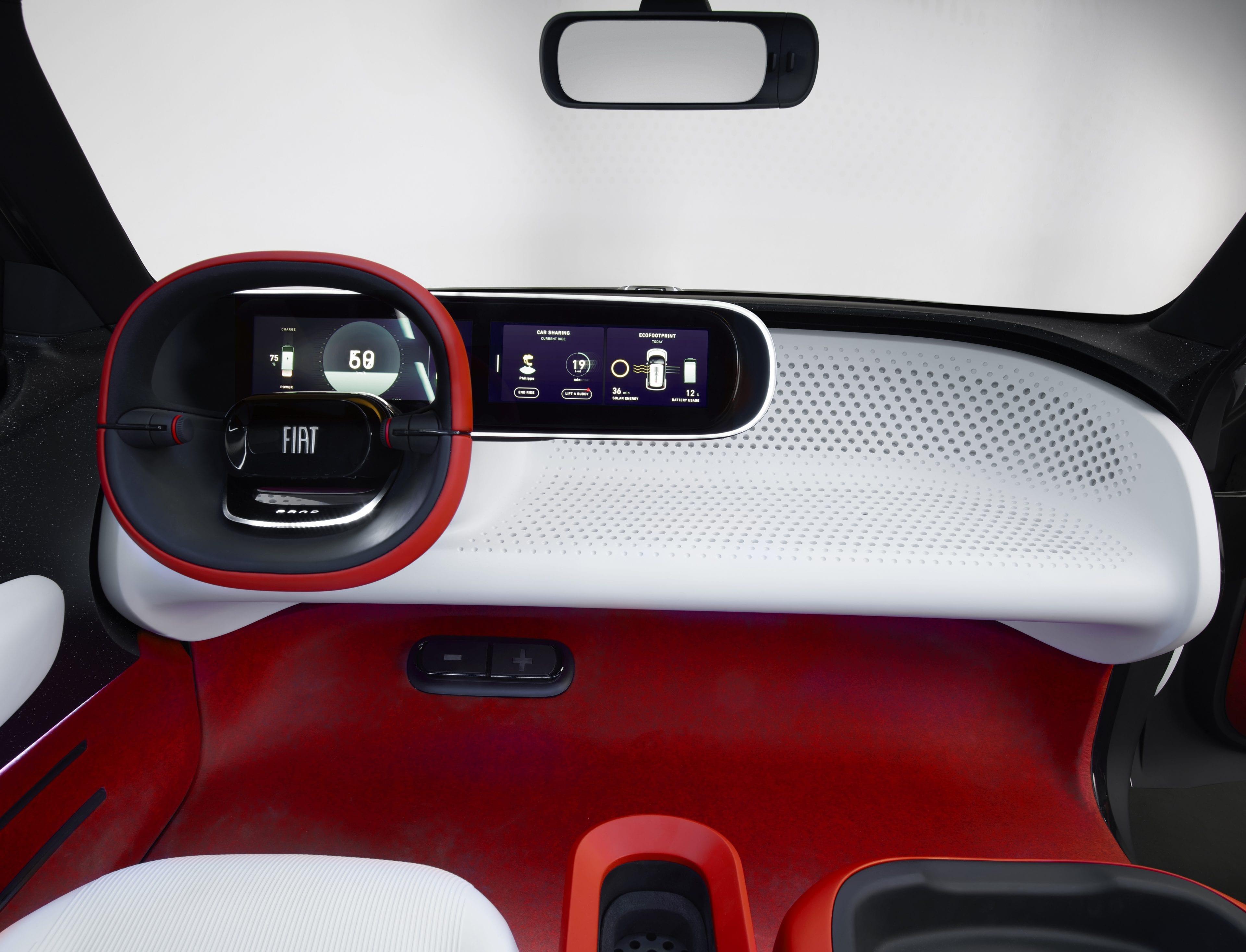 Fiat Concept Centoventi - dashboard