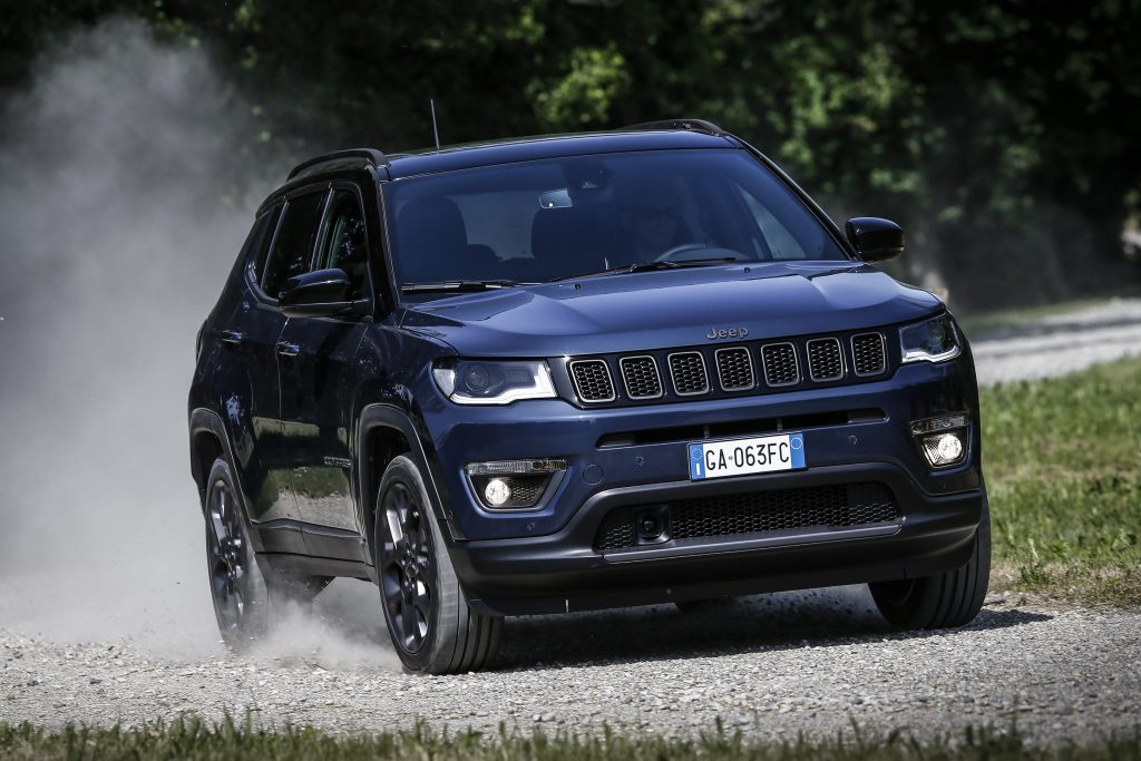 New Jeep Compass 2020 blauw - offroad