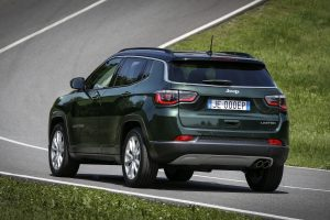 New Jeep Compass LIMITED 2020 groen - achterkant