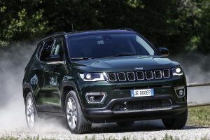 New Jeep Compass LIMITED 2020 - voorkant offroad