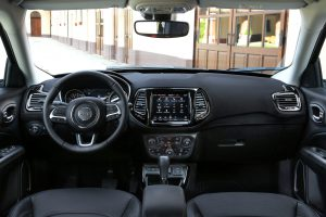 New Jeep Compass 2020 - dashboard