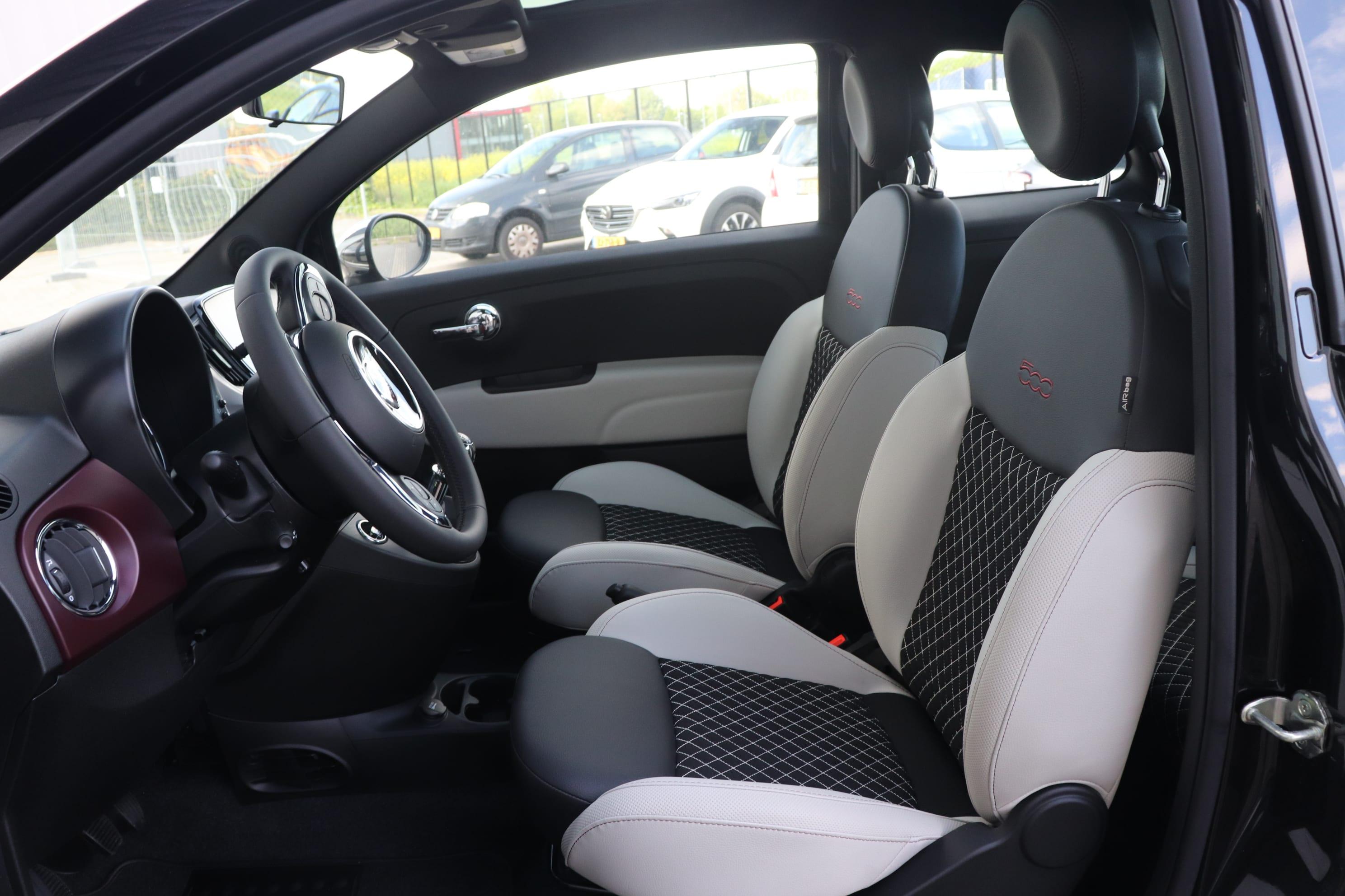 Fiat 500 1.2 Star - interieur