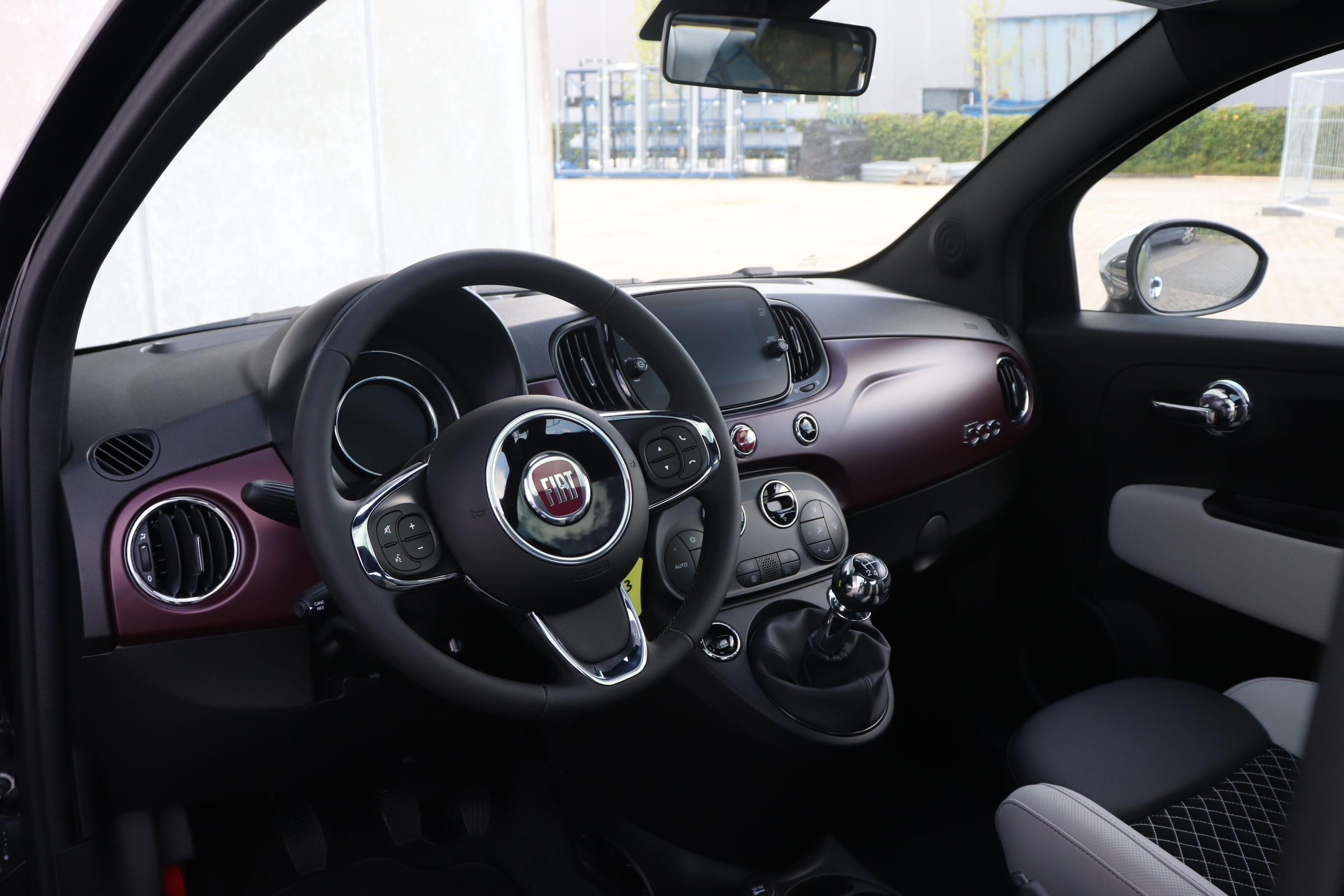 Fiat 500 1.2 Star - dashboard
