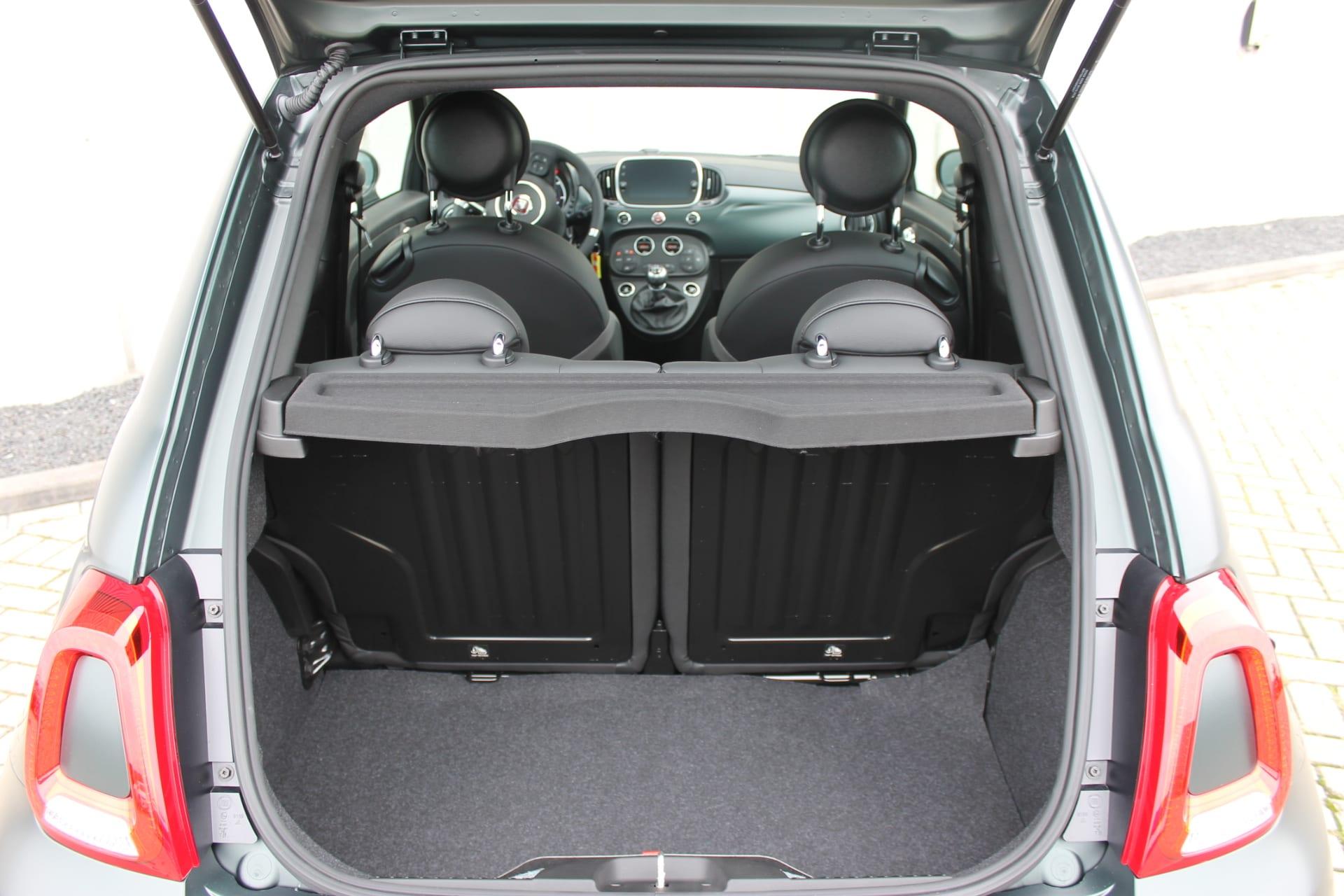 Fiat 500 Rockstar matgroen - kofferbak