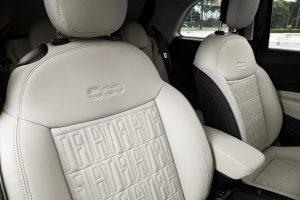 New Fiat 500e hatchback bekleding