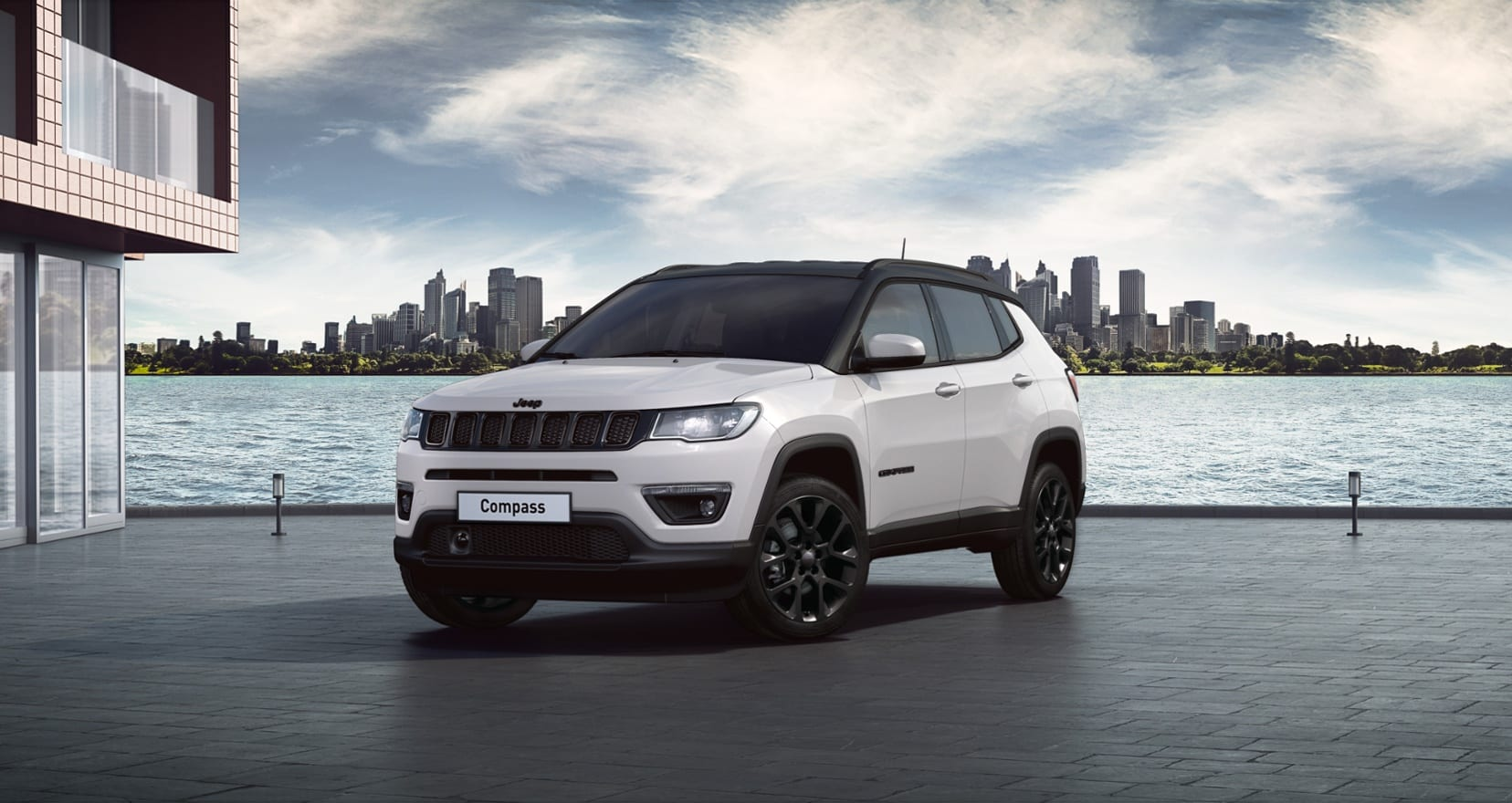 Jeep Compass Night Eagle Liberty Edition - wit