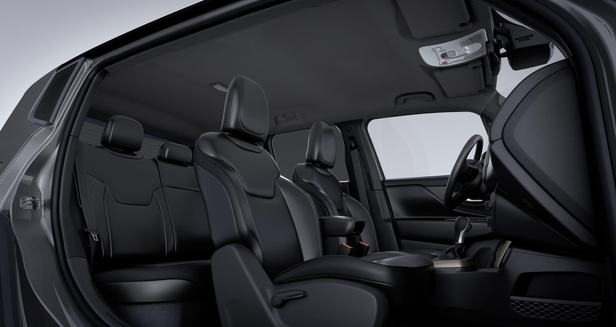 Jeep Renegade S Sting Grey - Interieur voor