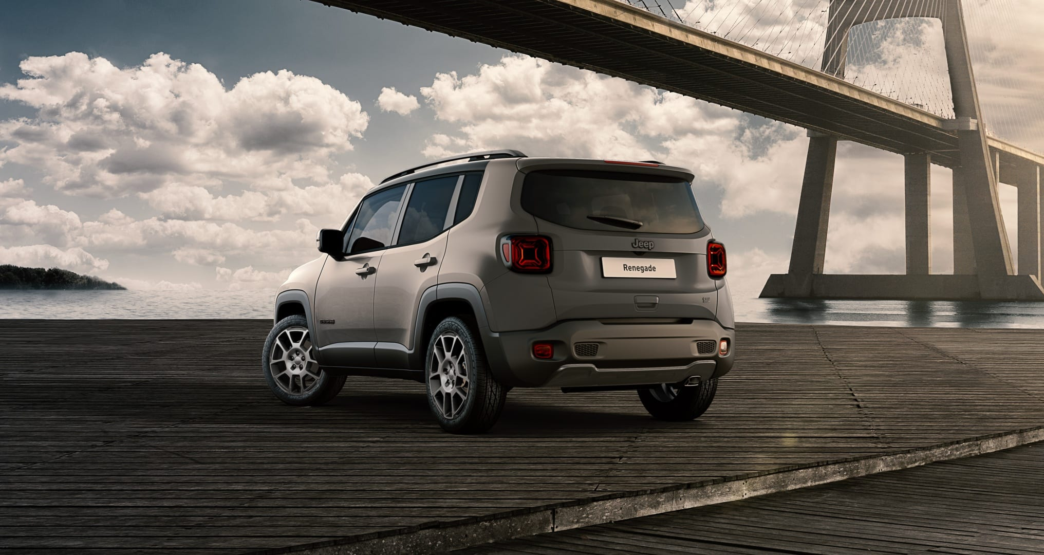 Jeep Renegade S Sting Grey - achterkant